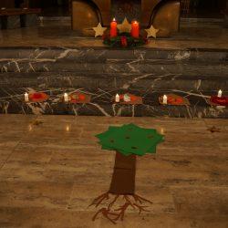 Friedenslicht Sternenbaum