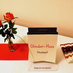 Spendenkasse Chinderhuus