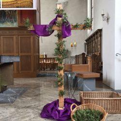 Kreuz der Hoffnung wurde dekoriert
