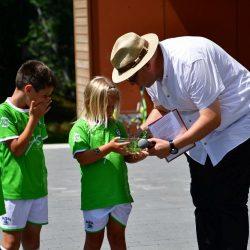 Kinder mit Volker Schmitt