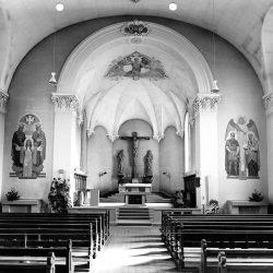 Kirche nach der Renovation von 1952 (Quelle Pfarreimitglied)