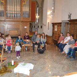 FamilienArche 2018 Erntedank, Kirche