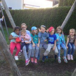 Fam-Ferien 2018 Kinder auf Schaukel