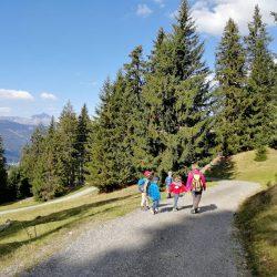 Fam-Ferien 2018 Wanderung