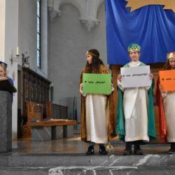 201901 Sternsinger im Gottesdienst
