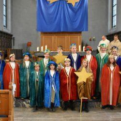 201901 Sternsinger in der Kirche