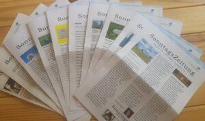 SonntagsZeitung Extrablatt